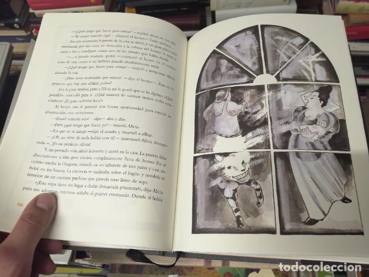Libros de segunda mano: ALICIA EN EL PAÍS DE LAS MARAVILLAS . LEWIS CARROLL. ILUSTRACIONES MARTA GÓMEZ-PINTADO. 2009 - Foto 9 - 266975619