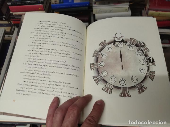 Libros de segunda mano: ALICIA EN EL PAÍS DE LAS MARAVILLAS . LEWIS CARROLL. ILUSTRACIONES MARTA GÓMEZ-PINTADO. 2009 - Foto 10 - 266975619