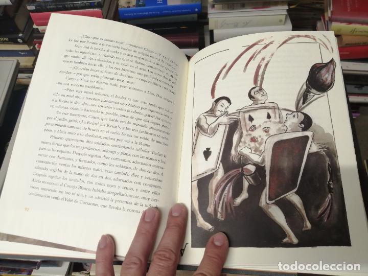 Libros de segunda mano: ALICIA EN EL PAÍS DE LAS MARAVILLAS . LEWIS CARROLL. ILUSTRACIONES MARTA GÓMEZ-PINTADO. 2009 - Foto 11 - 266975619