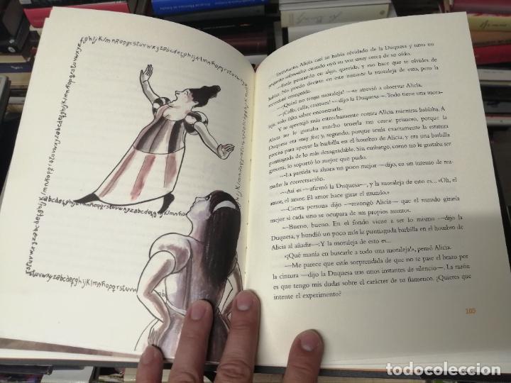 Libros de segunda mano: ALICIA EN EL PAÍS DE LAS MARAVILLAS . LEWIS CARROLL. ILUSTRACIONES MARTA GÓMEZ-PINTADO. 2009 - Foto 12 - 266975619