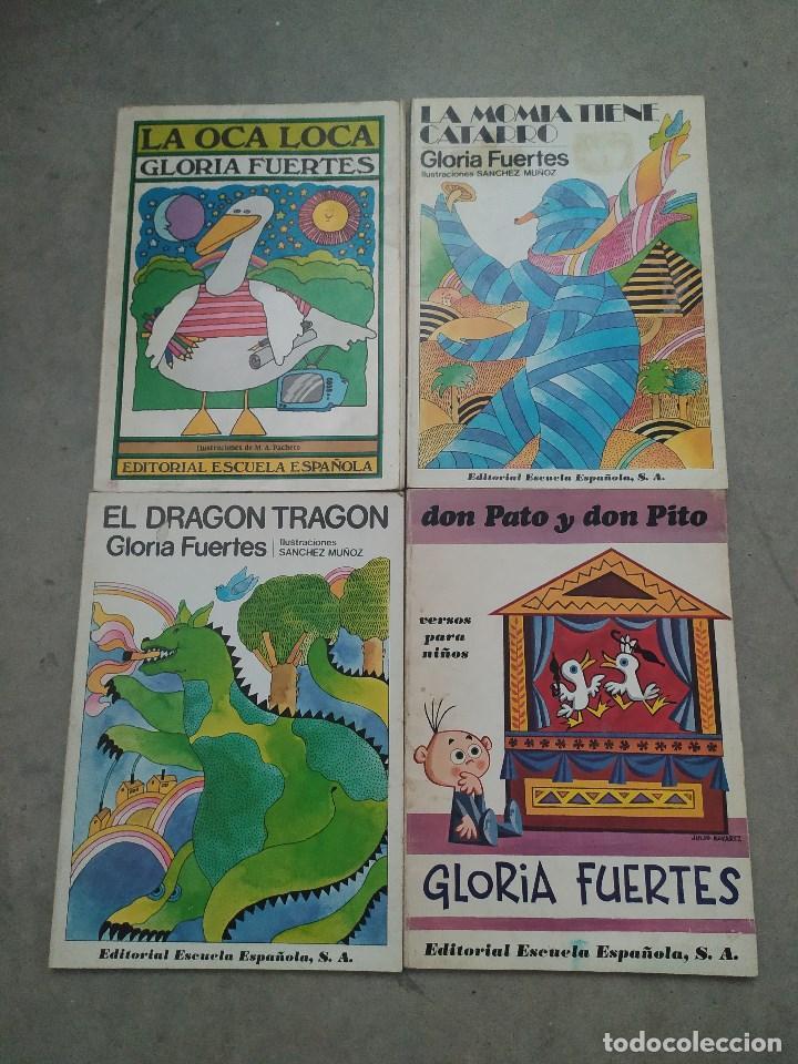 GLORIA FUERTES - LA OCA LOCA - EL DRAGÓN TRAGÓN - DON PATO Y DON PITO - LA MOMIA TIENE CATARRO (Libros de Segunda Mano - Literatura Infantil y Juvenil - Cuentos)