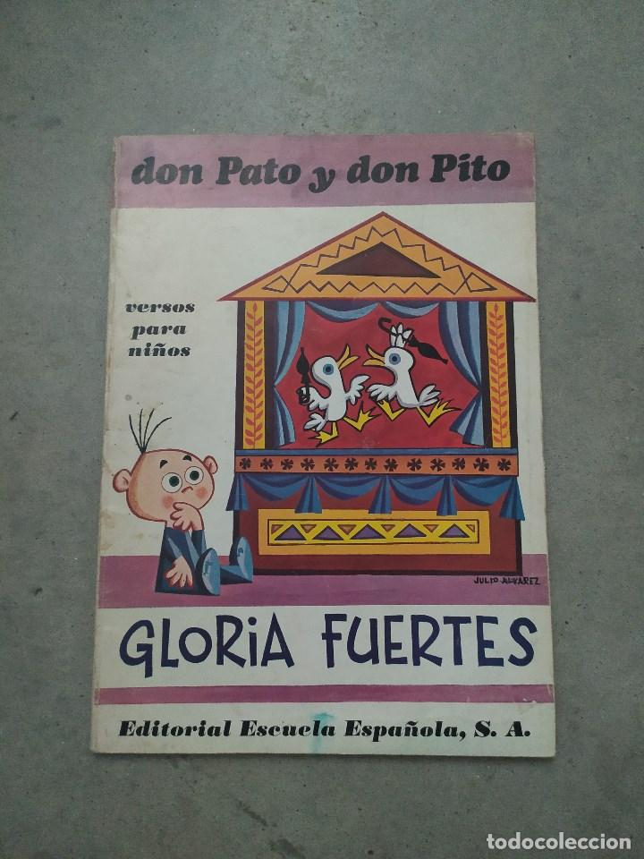 Libros de segunda mano: GLORIA FUERTES - LA OCA LOCA - EL DRAGÓN TRAGÓN - DON PATO Y DON PITO - LA MOMIA TIENE CATARRO - Foto 7 - 267284704