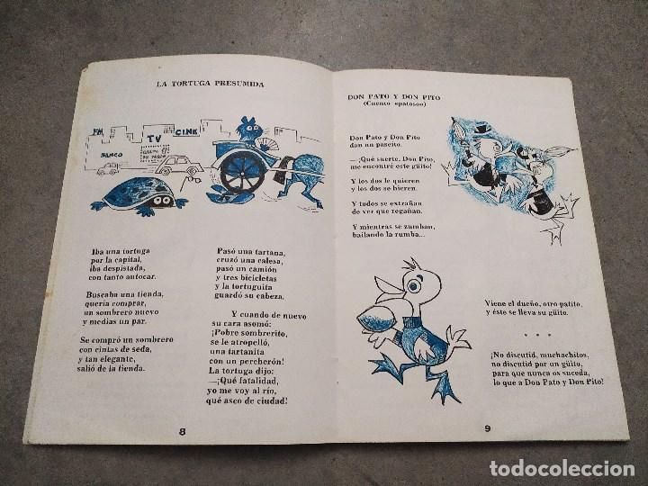 Libros de segunda mano: GLORIA FUERTES - LA OCA LOCA - EL DRAGÓN TRAGÓN - DON PATO Y DON PITO - LA MOMIA TIENE CATARRO - Foto 13 - 267284704
