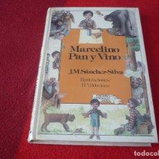 Libros de segunda mano: MARCELINO PAN Y VINO ( J.M. SANCHEZ-SILVA ) 1ª EDICION 1985 ANAYA LAURIN ILUSTRACIONES VALDOVINOS. Lote 267315839