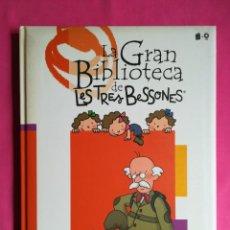 Libros de segunda mano: LES TRES BESONES, VIATGE AL CENTRE DE LA TERRA (CON CD) - 2005 - R. CAPDEVILA Y OTROS - ED.CROMOSOMA. Lote 267317314