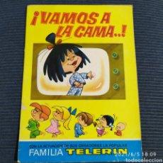 Livres d'occasion: CUENTO VAMOS A LA CAMA LA FAMILIA TELERIN BRUGUERA. Lote 267373389