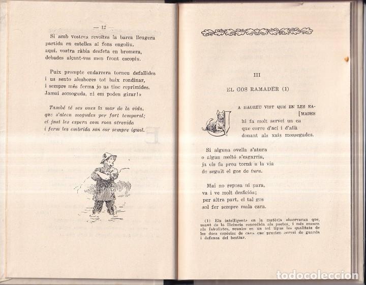 Libros de segunda mano: FAULES I SIMILS - MN. JAUME COLLELL - ED. BALMES 1960 - Foto 3 - 267628934