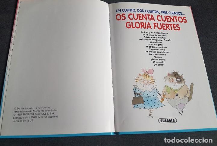 Libros de segunda mano: libro Os cuenta cuentos Gloria Fuertes - Foto 2 - 268076354