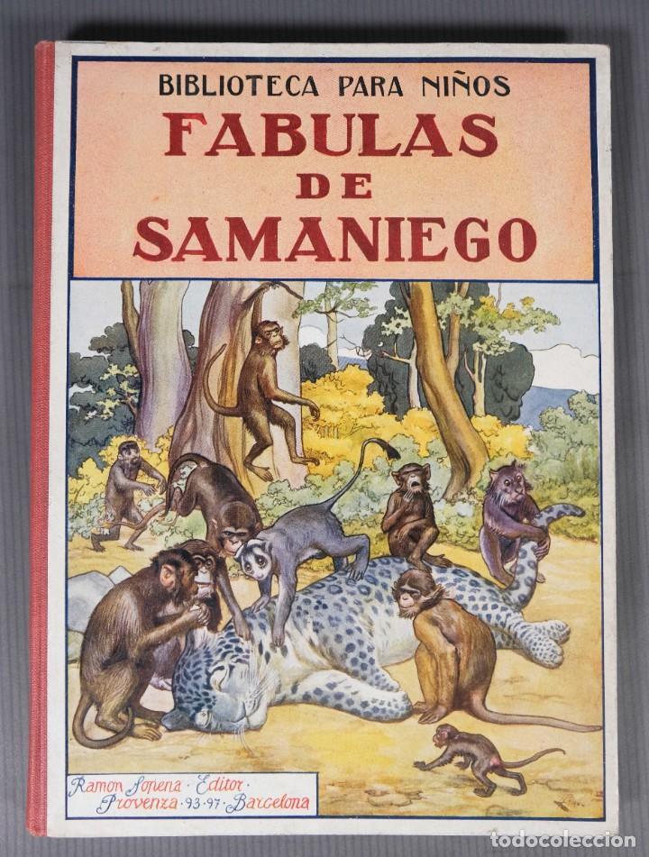 FABULAS DE SAMANIEGO - FELIX MARIA SAMANIEGO - RAMON SOPENA EDITOR (Libros de Segunda Mano - Literatura Infantil y Juvenil - Cuentos)