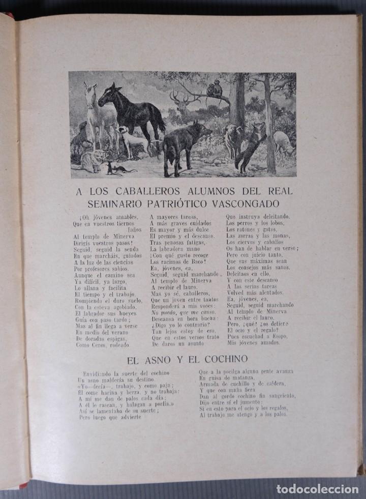 Libros de segunda mano: Fabulas de Samaniego - Felix Maria Samaniego - Ramon Sopena editor - Foto 5 - 268845359