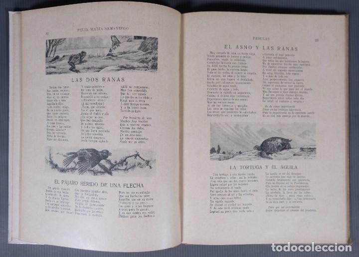 Libros de segunda mano: Fabulas de Samaniego - Felix Maria Samaniego - Ramon Sopena editor - Foto 6 - 268845359