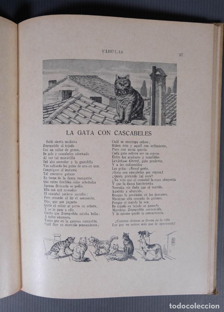 Libros de segunda mano: Fabulas de Samaniego - Felix Maria Samaniego - Ramon Sopena editor - Foto 7 - 268845359