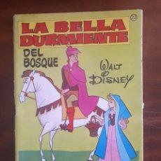 Libros de segunda mano: LA BELLA DURMIENTE. BRUGUERA N° 22. ARRANCA, PINTA Y COLOREA.. Lote 268959044