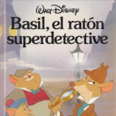 Libros de segunda mano: BASIL, EL RATÓN SUPERDETECTIVE. WALT DISNEY, LEÓN 1987.. Lote 269443168