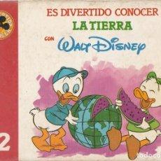 Libros de segunda mano: ES DIVERTIDO CONOCER LA TIERRA CON WALT DISNEY. TOMO 12. MADRID 1986.. Lote 269447793