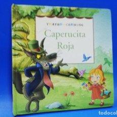 Libros de segunda mano: CAPERUCITA ROJA. TEATRO-CUENTOS, FOLIO. 2007. PAGS. 16/10.. Lote 269610388