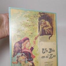 Libros de segunda mano: UN DIA EN EL ZOO - LIBRO JUGUETE. POP UP BOOK - EDITA BRUGUERA FACSÍMIL (A.1981). Lote 269704743