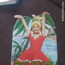 Libros de segunda mano: CUENTO TROQUELADO POLIZON A BORDO UNA AVENTURA DE MARI SOL RUMBO A RIO , EDITORIAL FHER AÑO 1958. Lote 269788723