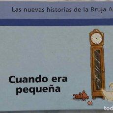 Libros de segunda mano: CUANDO ERA PEQUEÑA.LA NUEVAS HISTORIAS DE LA BRUJA ABURRIDA. LIBRO SALVAT. Lote 269788888