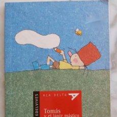 Libros de segunda mano: TOMAS Y EL LAPIZ MAGICO. RICARDO ALCANTARA . LIBRO EDELVIVES.. Lote 269797733