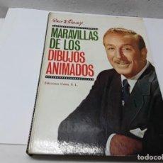 Libros de segunda mano: MARAVILLAS DE LOS DIBUJOS ANIMADOS. Lote 269804558