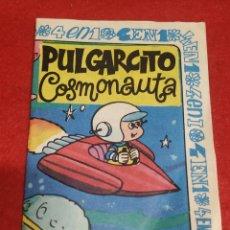 Libros de segunda mano: PULGARCITO COSMONAUTA, CUADERNILLO INFANTIL EDITORIAL 4 EN 1. Lote 269807118