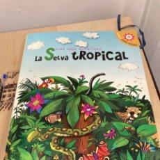 Libros de segunda mano: LIBRO INFANTIL LA SELVA TROPICAL. Lote 269821708