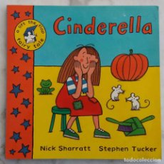 Libros de segunda mano: CINDERELLA.A LIFT THE FLAP FAIRY TALE.NICK SHARRATT.STEPHEN TUCKER. LIBRO EN INGLES. Lote 269836423