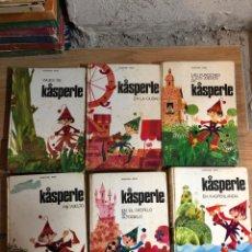 Libros de segunda mano: LOTE LIBROS ILUSTRADOS KASPERLE JOSEPHINE SIEBE AÑOS 70. Lote 269844953