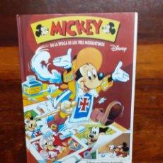 Libros de segunda mano: MICKEY EN LA EPOCA DE LOS TRES MOSQUETEROS. DISNEY. 1994. BEASCOA. EN MUY BUEN ESTADO.. Lote 269849243