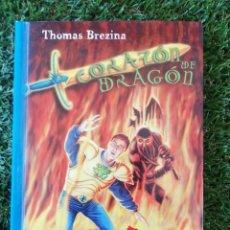 Libros de segunda mano: CORAZON DE DRAGON. LA FORTALEZA DE FUEGO SM 2001. Lote 270359008