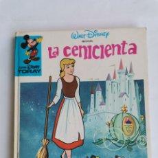 Libros de segunda mano: LA CENICIENTA CINE DISNEY TORAY 1981. Lote 270871478
