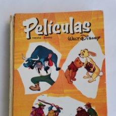 Libros de segunda mano: PELÍCULAS WALT DISNEY SEXTO TOMO WINNIE THE POOH ROBIN DE LOS BOSQUES 1967. Lote 270871993