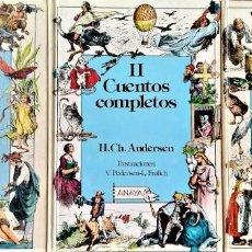 Libros de segunda mano: CUENTOS COMPLETOS H. CH. ANDERSEN TOMOS I II Y III - ILUSTRAD PEDERSEN, FROLICH - ED. ANAYA 1990 1ºE. Lote 271024423