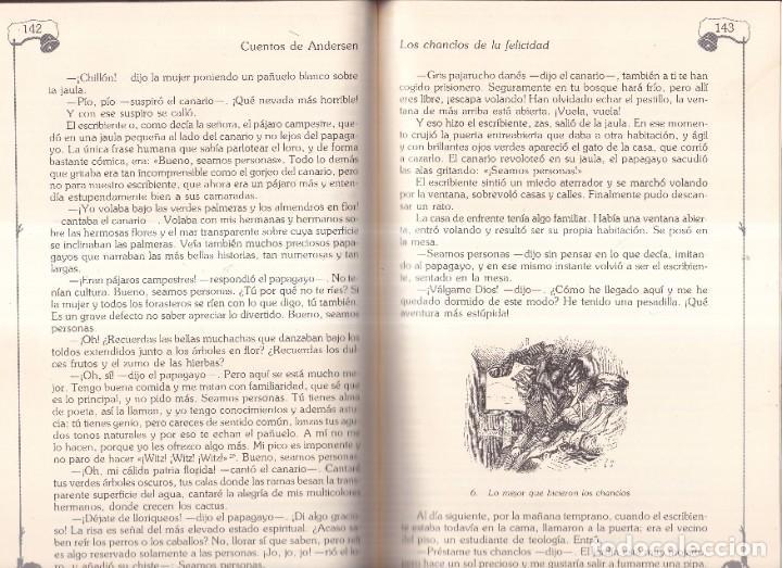 Libros de segunda mano: CUENTOS COMPLETOS H. CH. ANDERSEN TOMOS I II Y III - ILUSTRAD PEDERSEN, FROLICH - ED. ANAYA 1990 1ºE - Foto 3 - 271024423