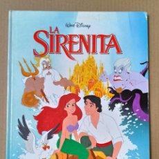 Libros de segunda mano: CUENTO LA SIRENITA WALT DISNEY. Lote 271049503