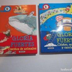 Libros de segunda mano: 2 LIBROS DE GLORIA FUENTES.. Lote 271382663