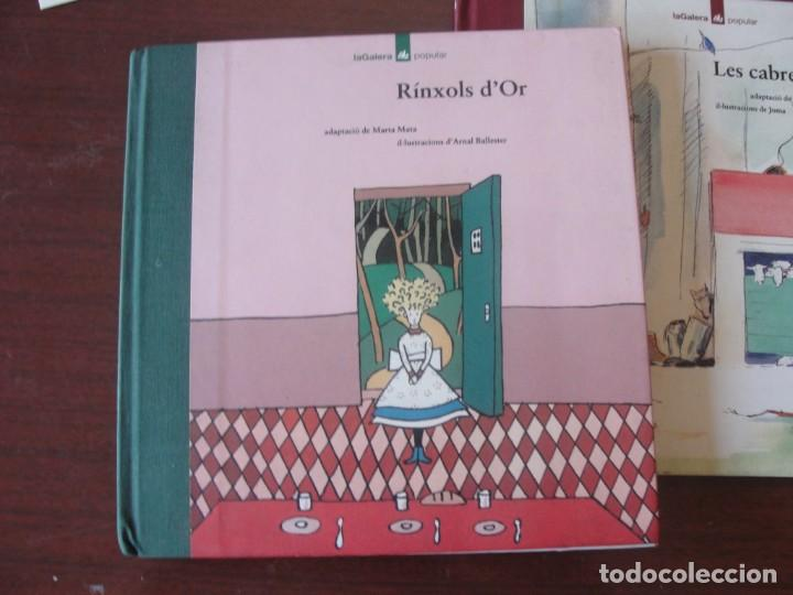 RINXOLS D´OR - LA GALERA POPULAR 4 - ARNAL BALLESTER - NOU DE LLIBRERIA - LLOM DE ROBA - 1993 (Libros de Segunda Mano - Literatura Infantil y Juvenil - Cuentos)
