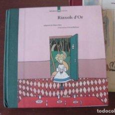 Libros de segunda mano: RINXOLS D´OR - LA GALERA POPULAR 4 - ARNAL BALLESTER - NOU DE LLIBRERIA - LLOM DE ROBA - 1993. Lote 272227568