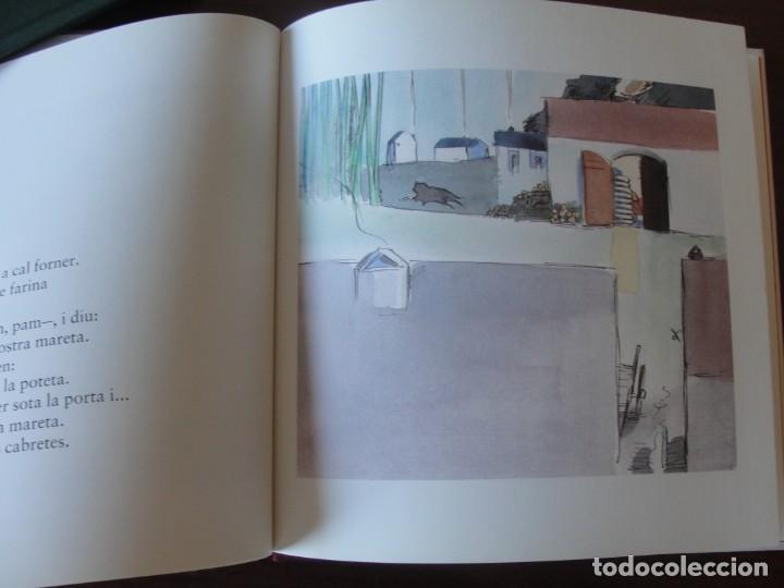 Libros de segunda mano: LES CABRETES I EL LLOP / JOMA - LA GALERA POPULAR 6 - PER ESTRENAR - LLOM DE ROBA - 1993 - Foto 2 - 272227893