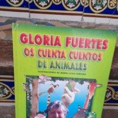 Libros de segunda mano: GLORIA FUERTES OS CUENTA CUENTOS DE ANIMALES ( EDITORIAL SUSAETA ). Lote 272974513
