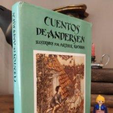Libros de segunda mano: CUENTOS DE ANDERSEN. ILUSTRADO POR ARTHUR RACKHAM. EDITORIAL JUVENTUD. 1977. Lote 274885078