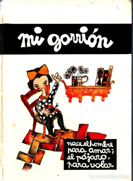 PILARÍN BAYÉS / Mª ANGELES OLLÉ : MI GORRIÓN (LA GALERA, 1964) (Libros de Segunda Mano - Literatura Infantil y Juvenil - Cuentos)
