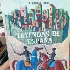 Libros de segunda mano: A. JIMÉNEZ LANDI. LEYENDAS DE ESPAÑA. Lote 275294853