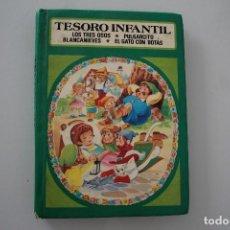 Libros de segunda mano: TESORO INFANTIL. Lote 275578278
