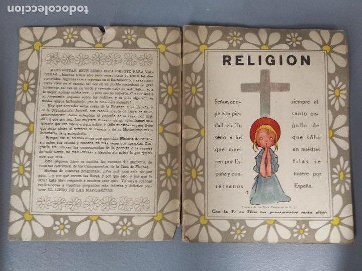 Libros de segunda mano: El Libro de las Margaritas - M. Aguilar - Falange española Tradicionalista y de las Jons - Años 40 - Foto 2 - 275683788