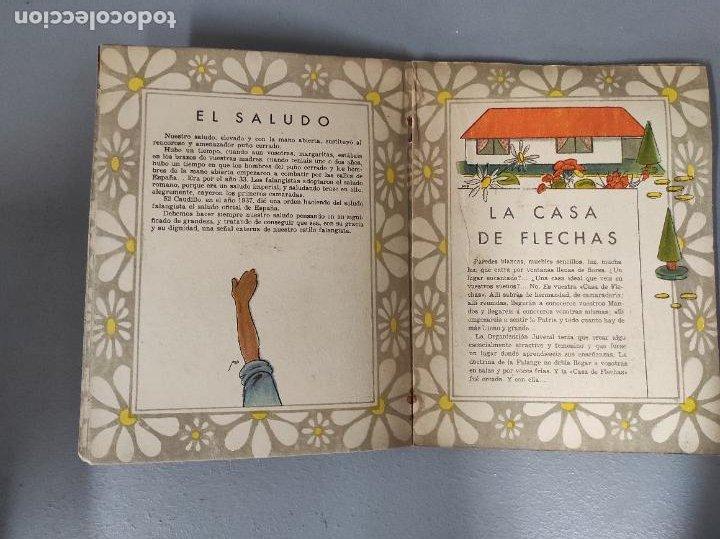 Libros de segunda mano: El Libro de las Margaritas - M. Aguilar - Falange española Tradicionalista y de las Jons - Años 40 - Foto 3 - 275683788