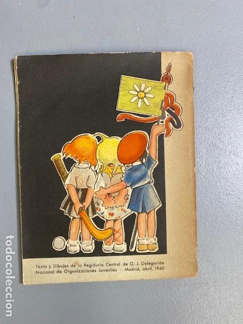 Libros de segunda mano: El Libro de las Margaritas - M. Aguilar - Falange española Tradicionalista y de las Jons - Años 40 - Foto 4 - 275683788