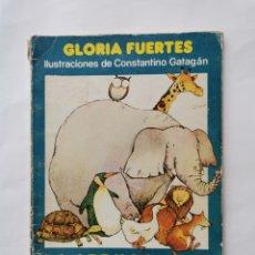 Libros de segunda mano: LA ARDILLA Y SU PANDILLA GLORIA FUERTES ILUSTRACIONES DE CONSTANTINO GATAGAN. Lote 275852033