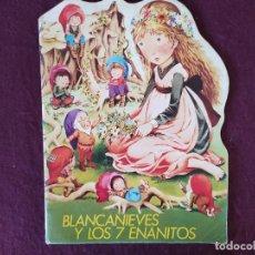 Libros de segunda mano: 1978, CUENTO TROQUELADO BLANCANIEVES Y LOS 7 ENANITOS, BRUGUERA, BARCELONA. Lote 275999673